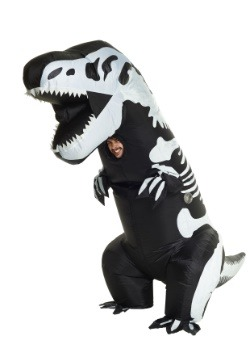 Adult Inflatable Skeleton T-Rex Costume