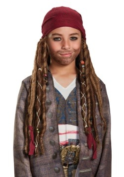 Jack Sparrow Child Bandana & Dreads Kit