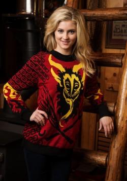 Mens Krampus Ugly Christmas Sweater Alt 1