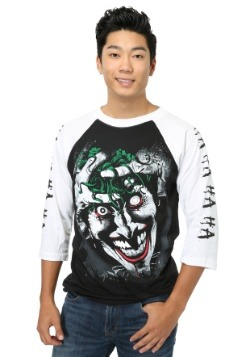 Killing Joke Joker Raglan Mens Shirt