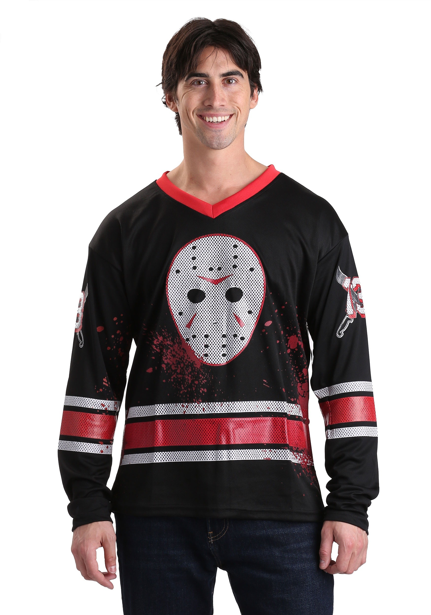 Jason Voorhees Hockey Jersey For Adults