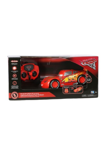 "Cars 3 Lightning McQueen 8"" Light Up R/C Car w/ Voice"