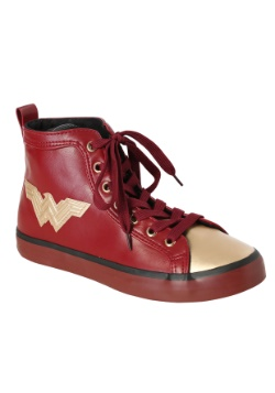 Wonder Woman Hi Top Womens Shoes