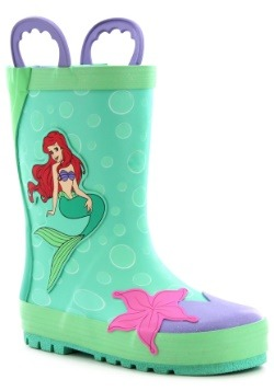 Little Mermaid Ariel Rain Boots