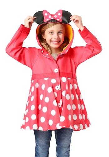 Minnie Mouse Girls Rain Coat