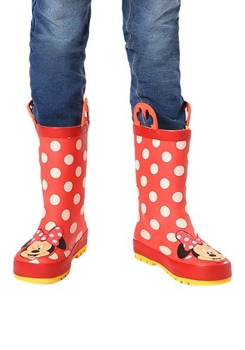 Minnie Mouse Rain Boots11