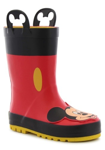 Mickey Mouse Rain Boots