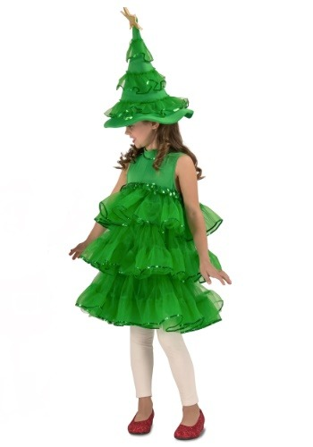 Glitter Christmas Tree Costume