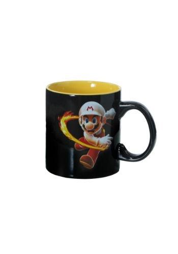 Mario Heat Changing Fireball Mug