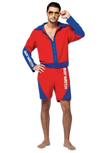 Adult Men's Baywatch Costume
