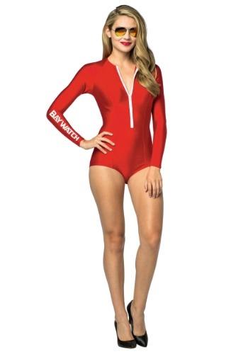 Womens Baywatch Swimsuit Costume