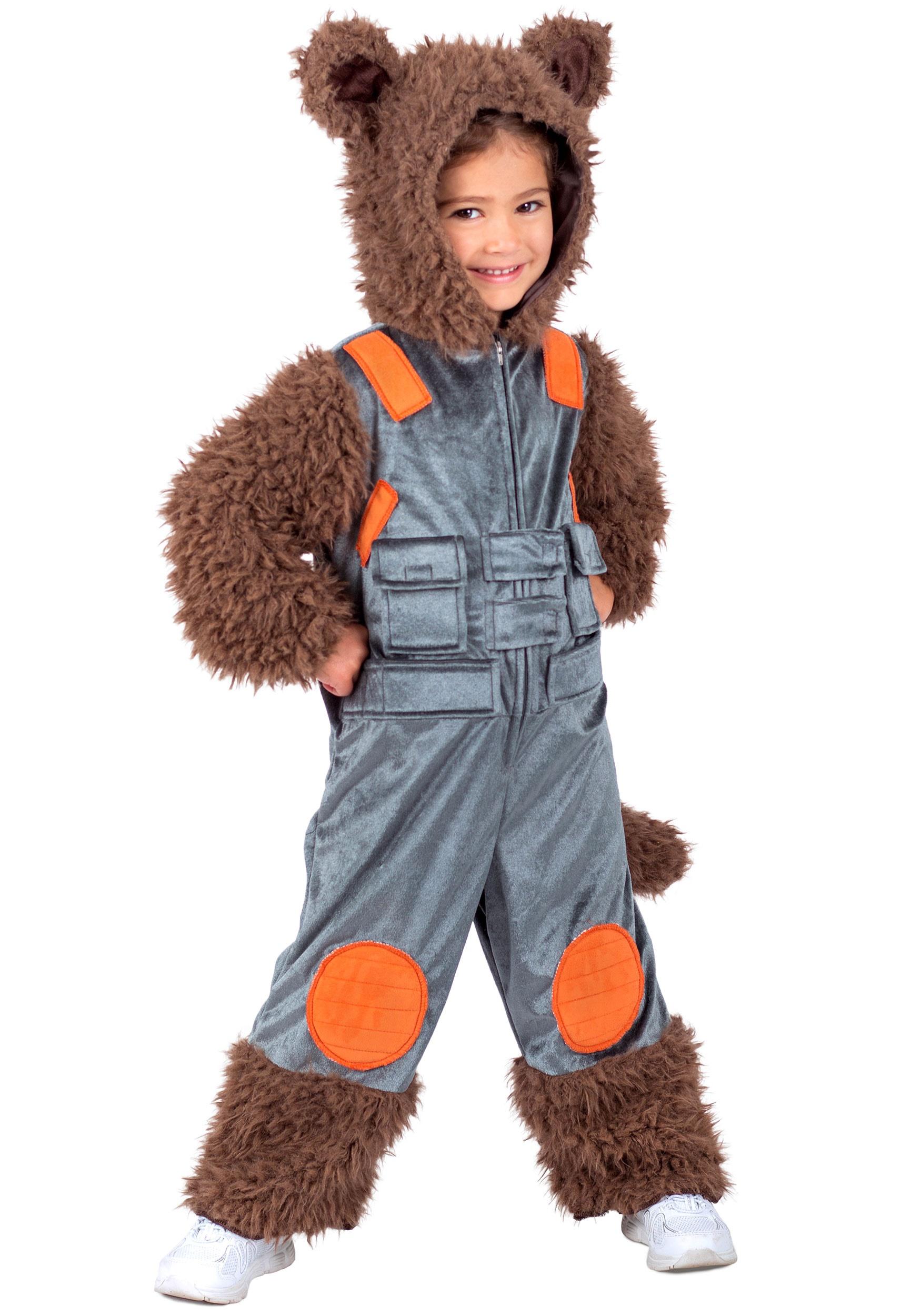 Kids Guardians of the Galaxy Rocket Raccoon Costume PR6063