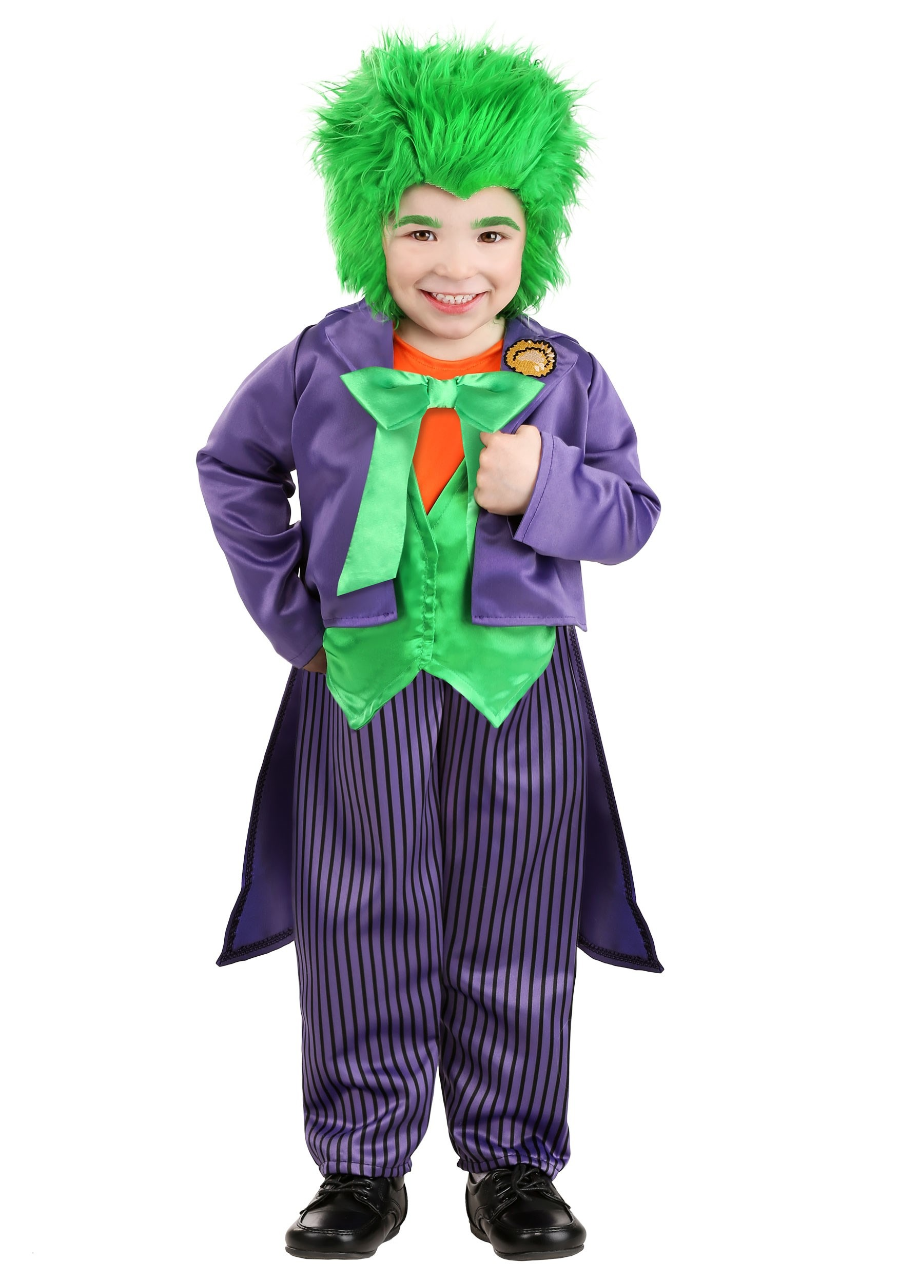 sc 1 st  Fun.com & Toddler DC Superhero Joker Costume