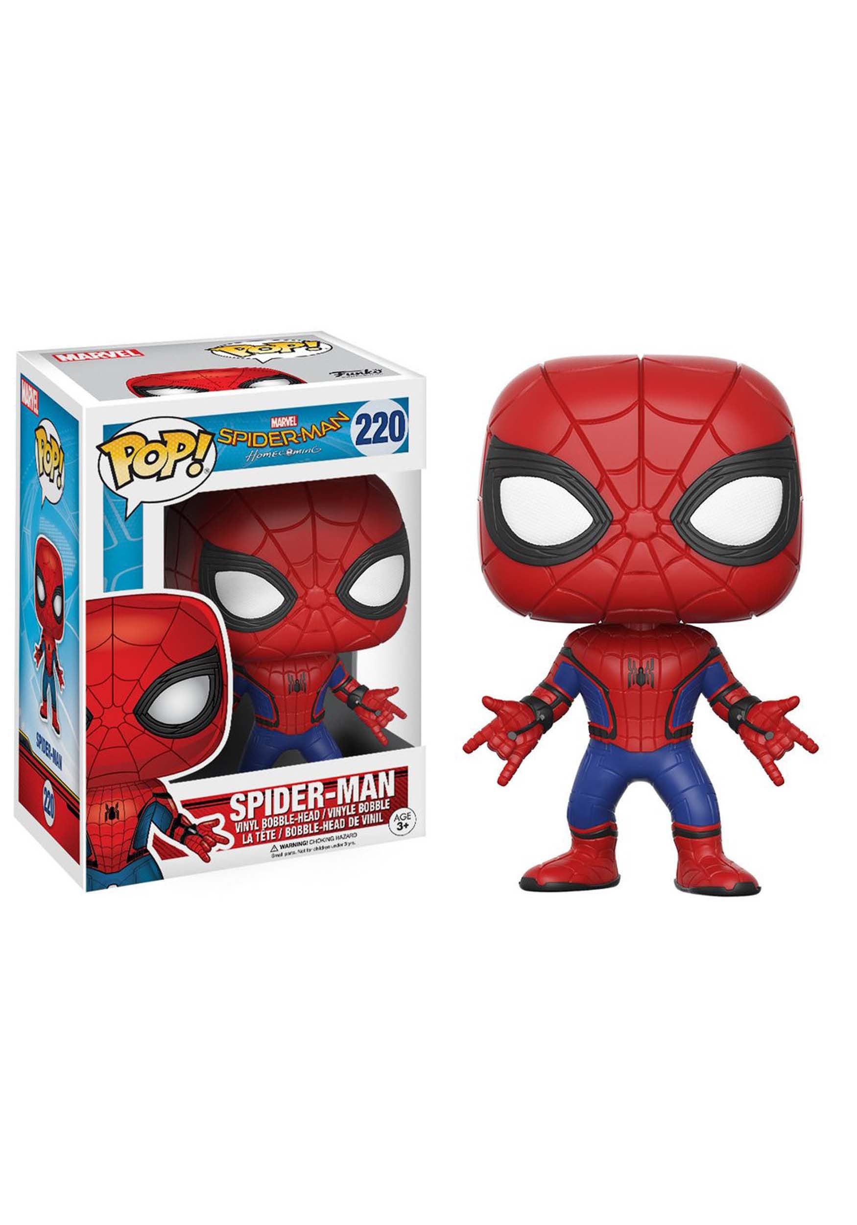 Spider-Man Homecoming Spider-Man POP! Bobblehead Figure FN13317