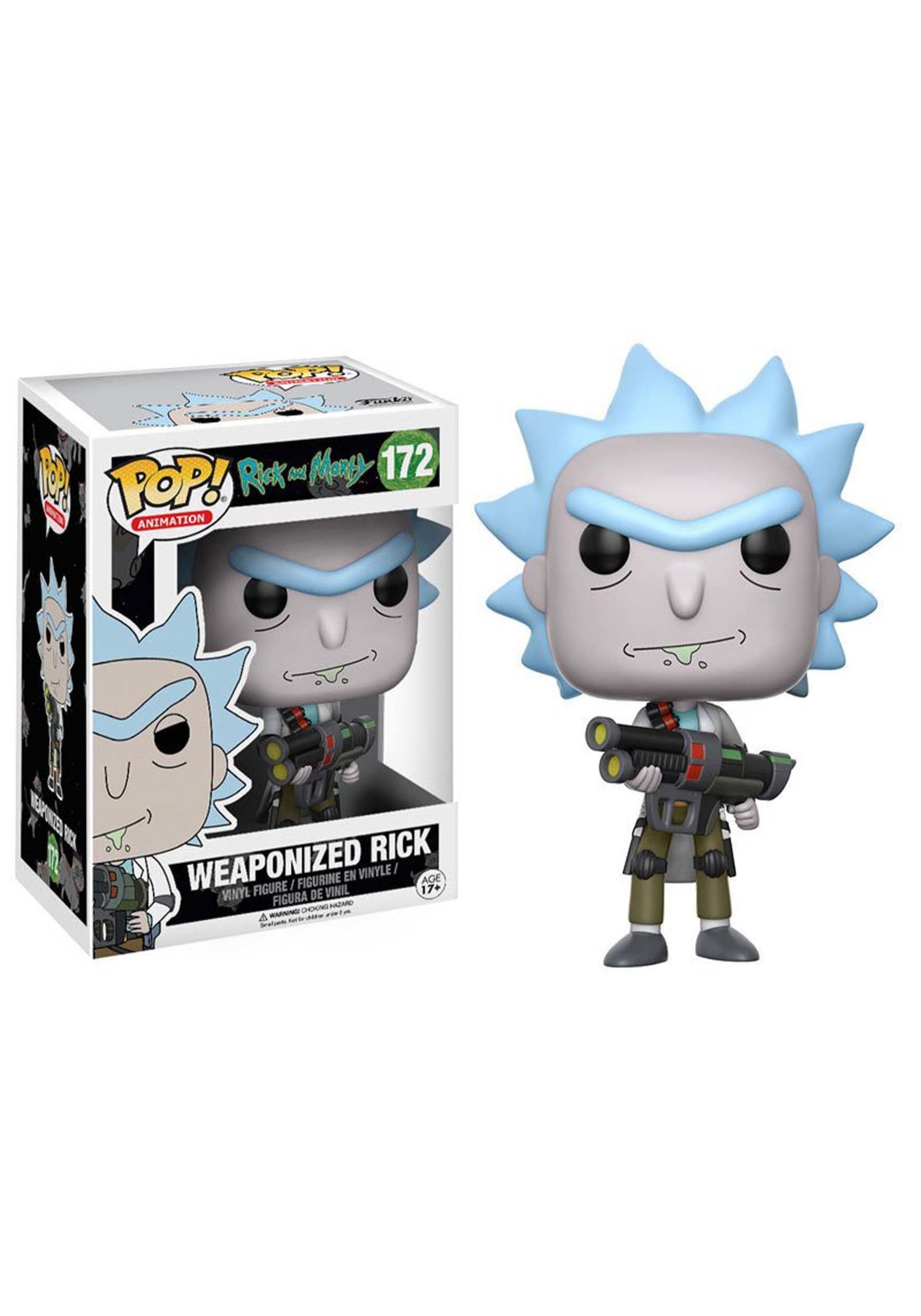 Rick and Morty Weaponized Rick POP! Vinyl Figure FN12439