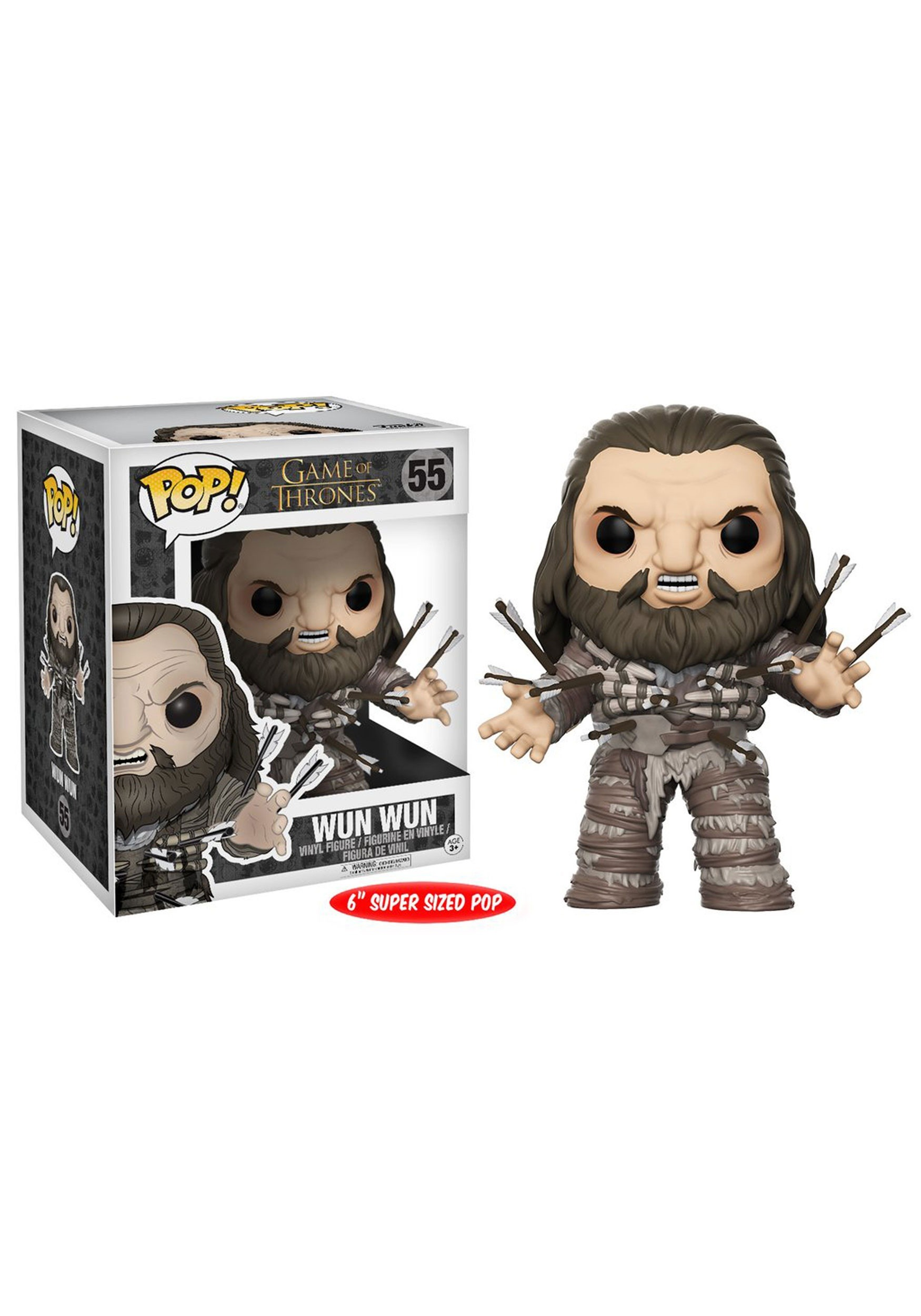 "Game of Thrones Wun Wun w/ Arrows 6"" POP Vinyl Figure FN12222"