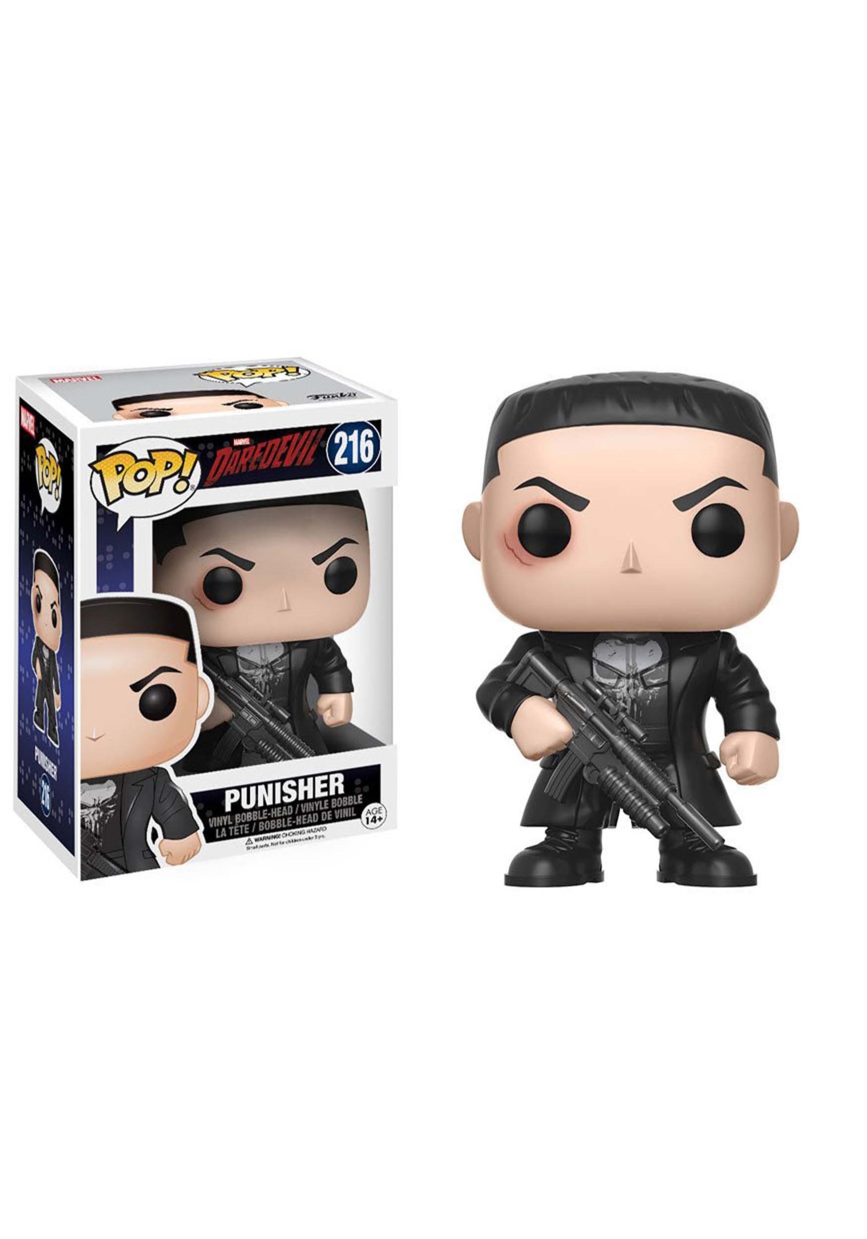 POP Marvel: Daredevil TV - Punisher Bobblehead FN11092
