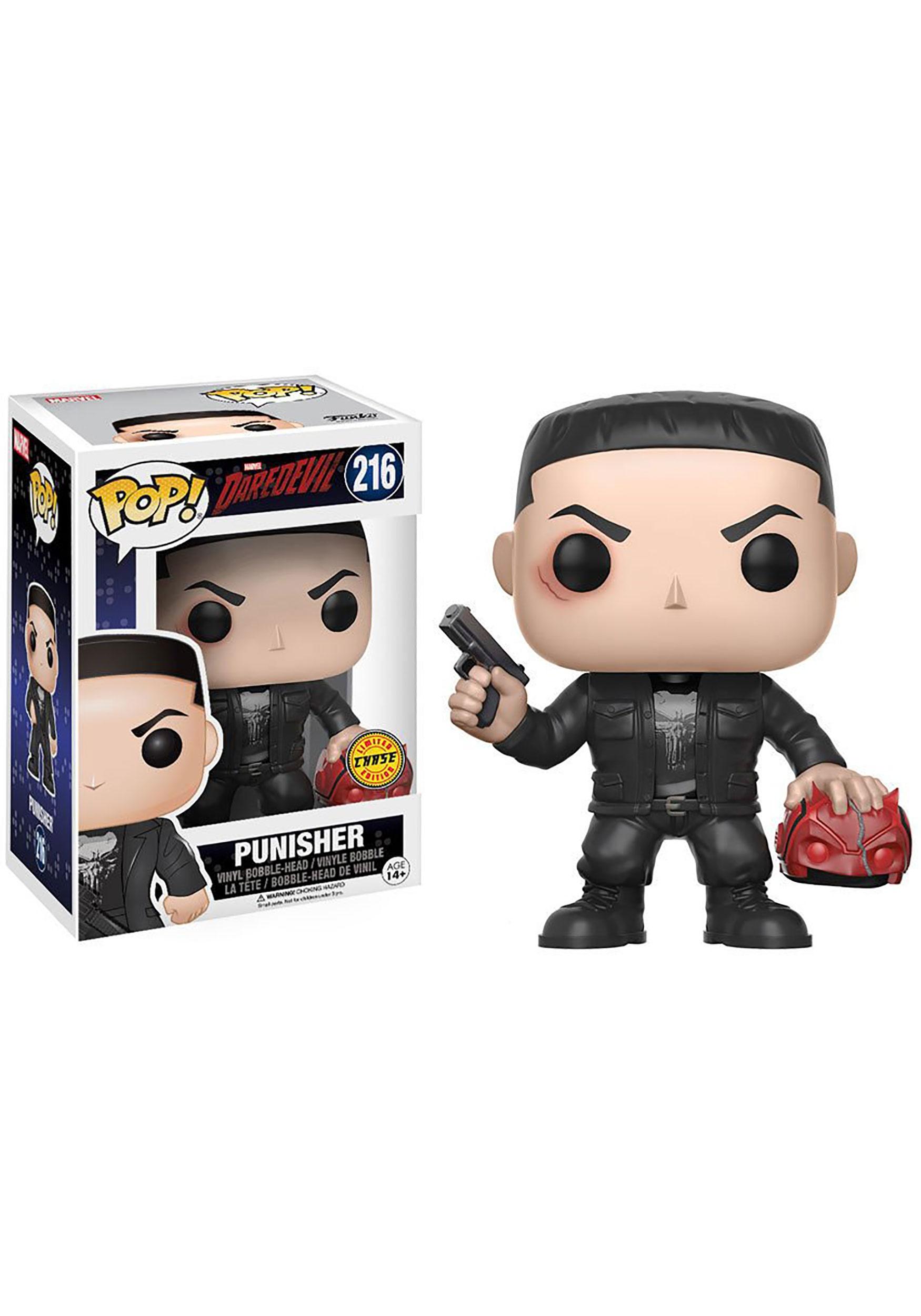 Pop Marvel Daredevil Tv Punisher Bobblehead