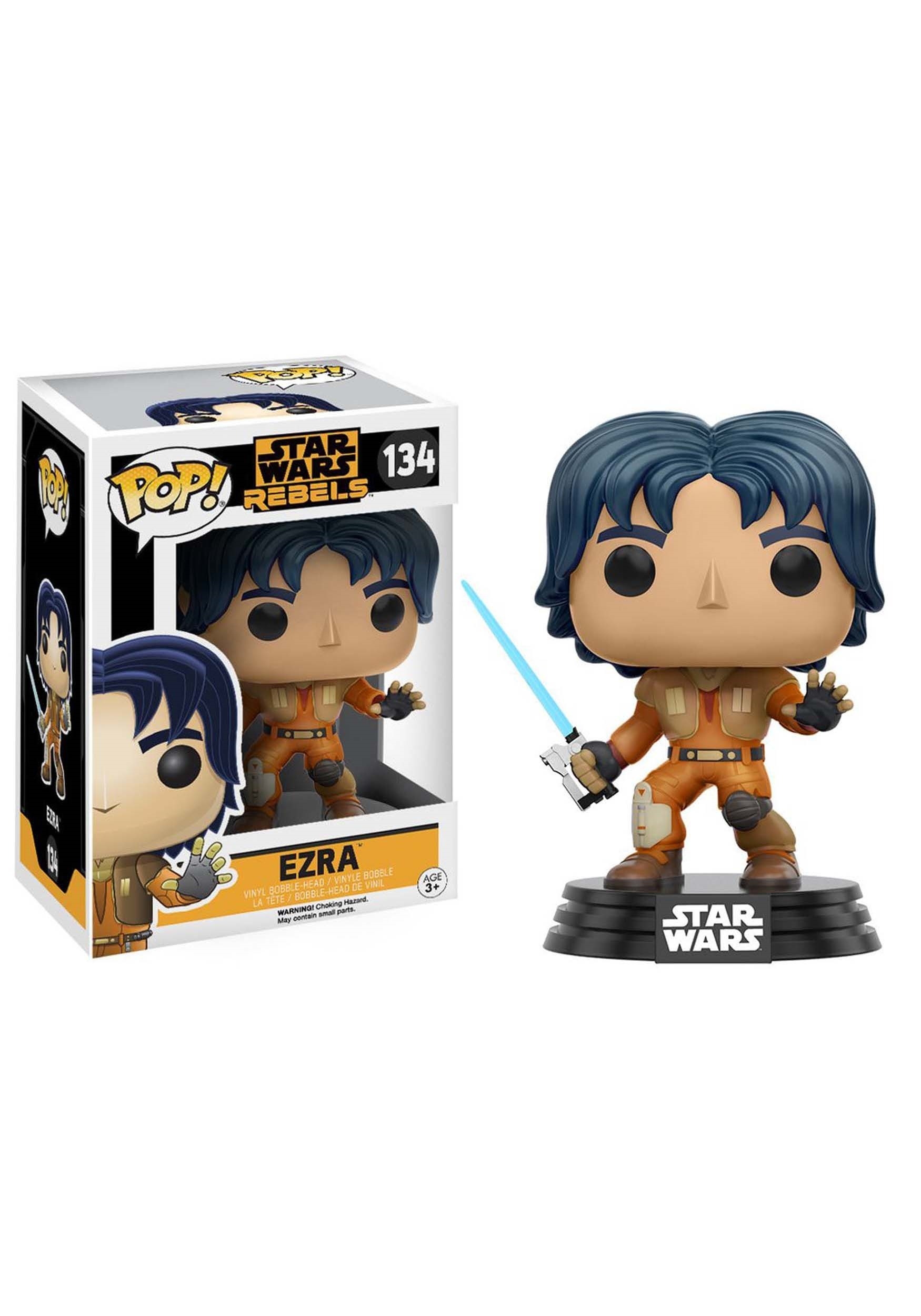 Star Wars Rebels Ezra Bridger Bobblehead POP! Vinyl Figure FN10772
