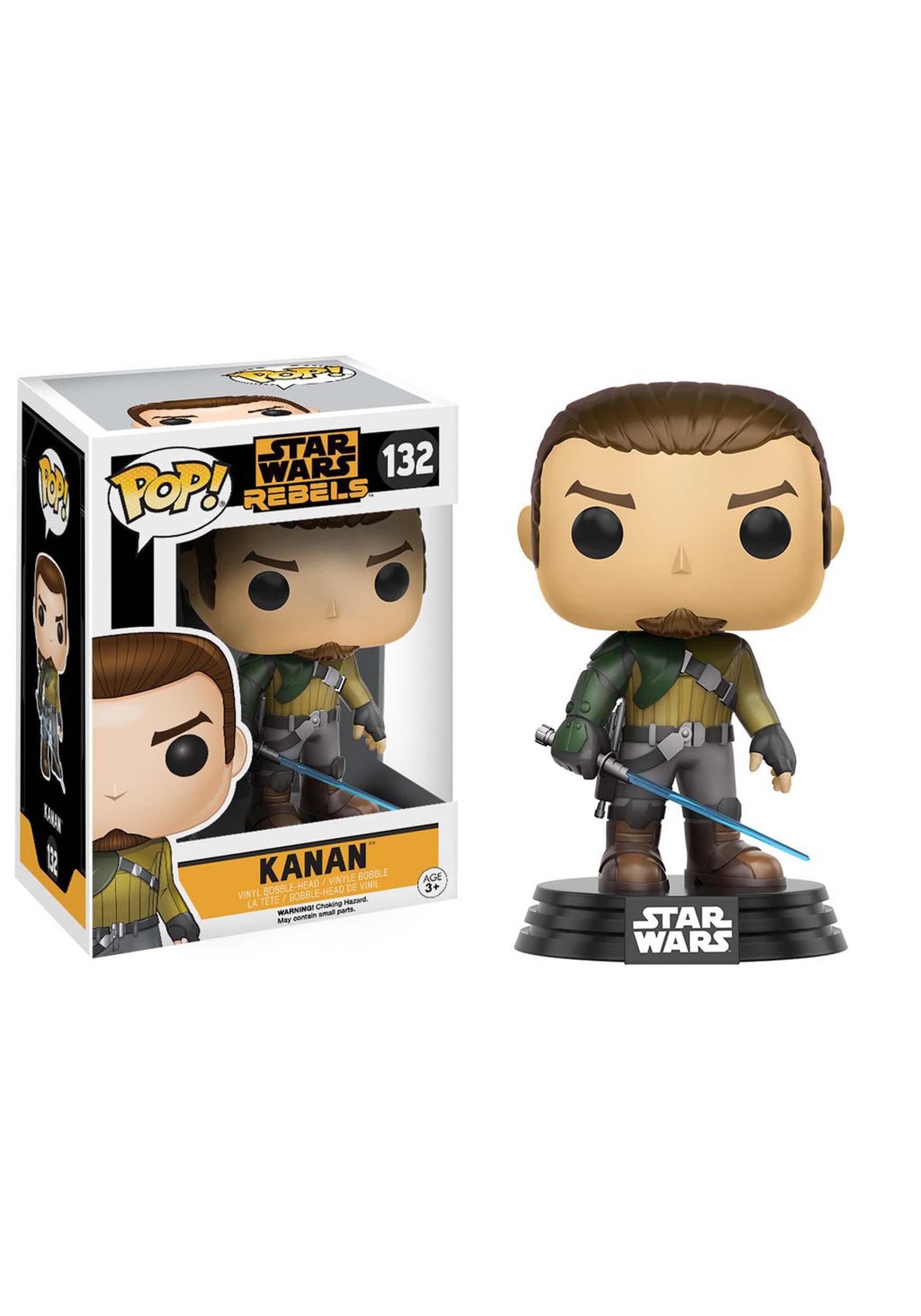 Star Wars Rebels Kanan Jarrus Bobblehead POP! Vinyl Figure FN10770