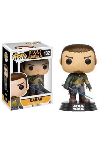 Star Wars Rebels Kanan Jarrus Bobblehead POP! Vinyl Figure FN10770-ST