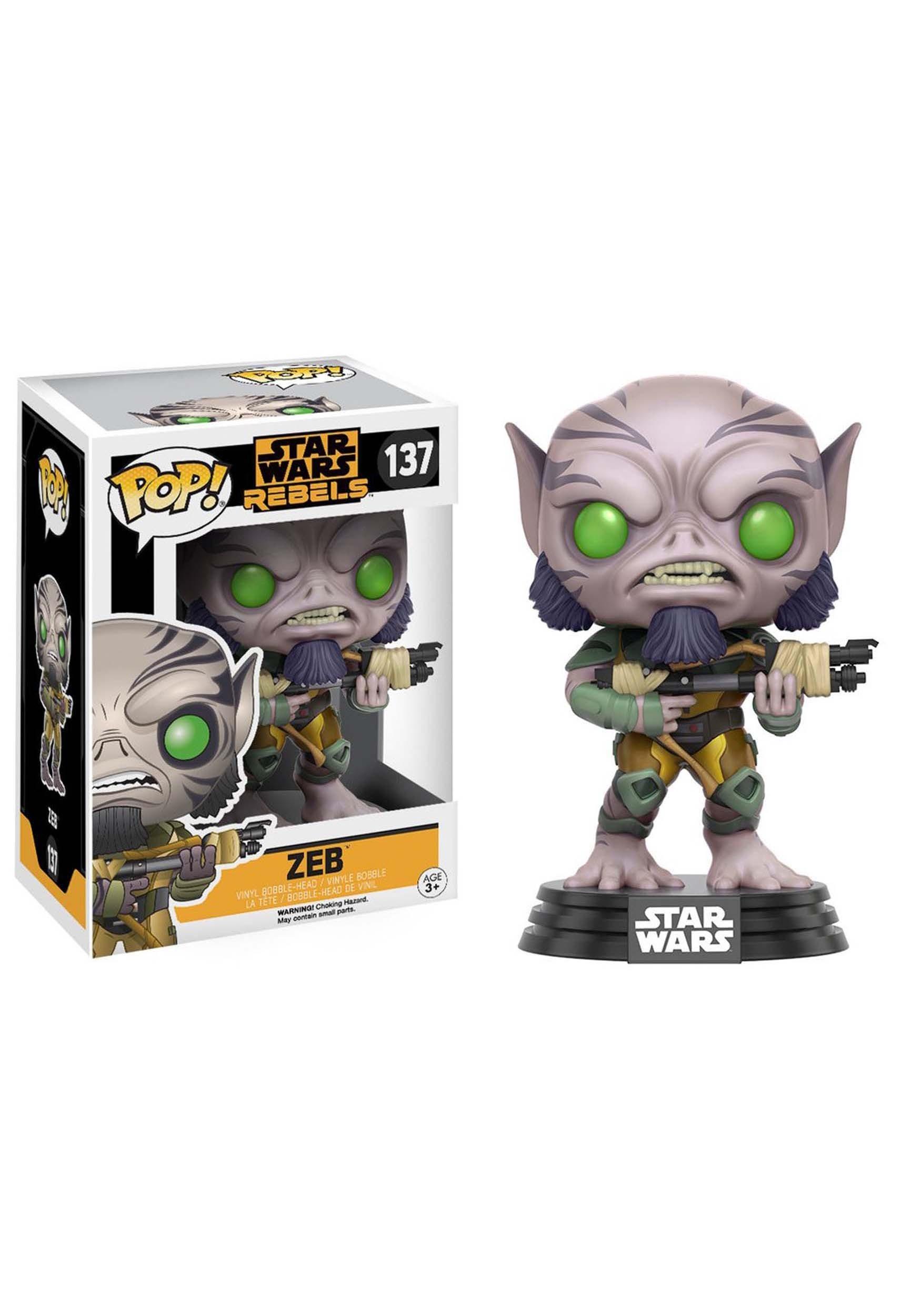 POP Star Wars: Rebels - Zeb Bobblehead Figure FN10775