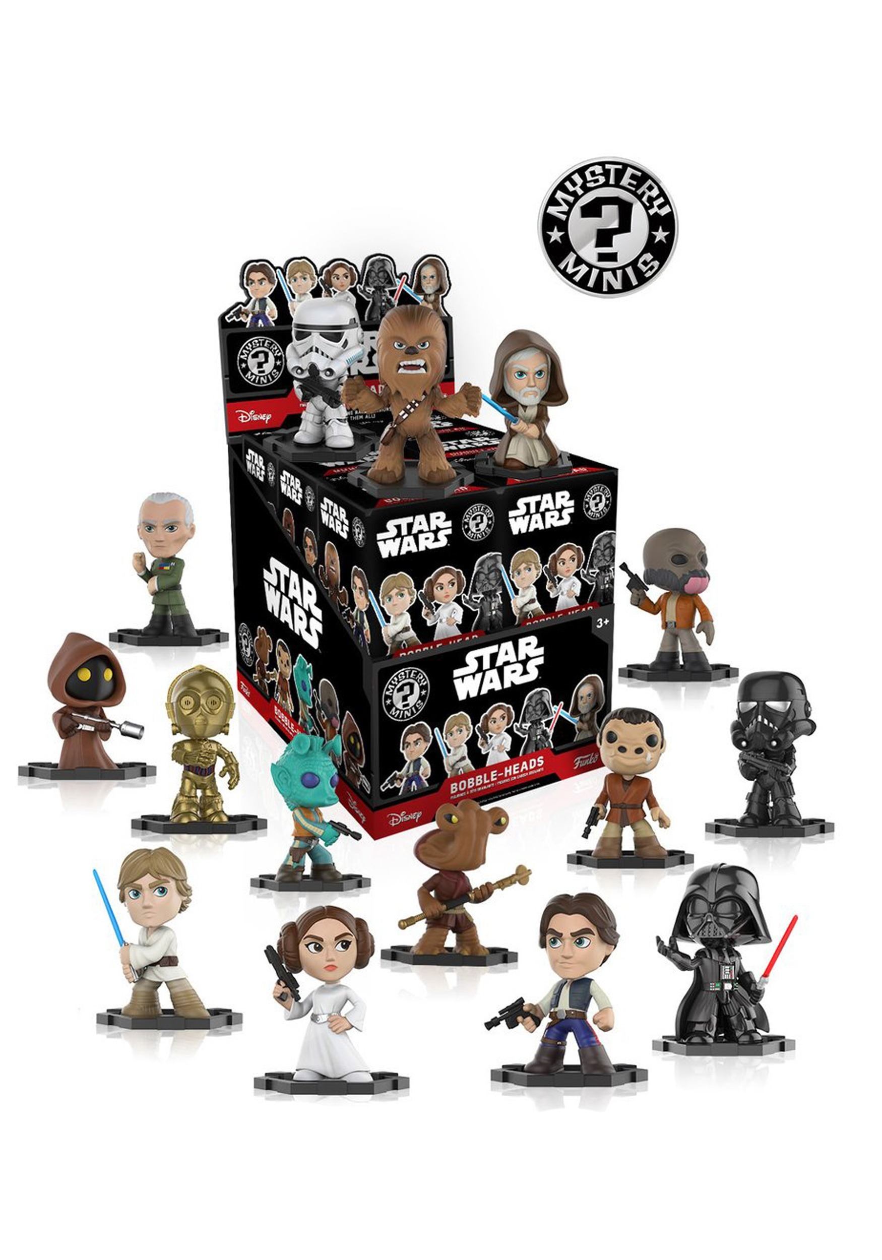 Mystery Mini Star Wars 40th Anniversary Bobblehead