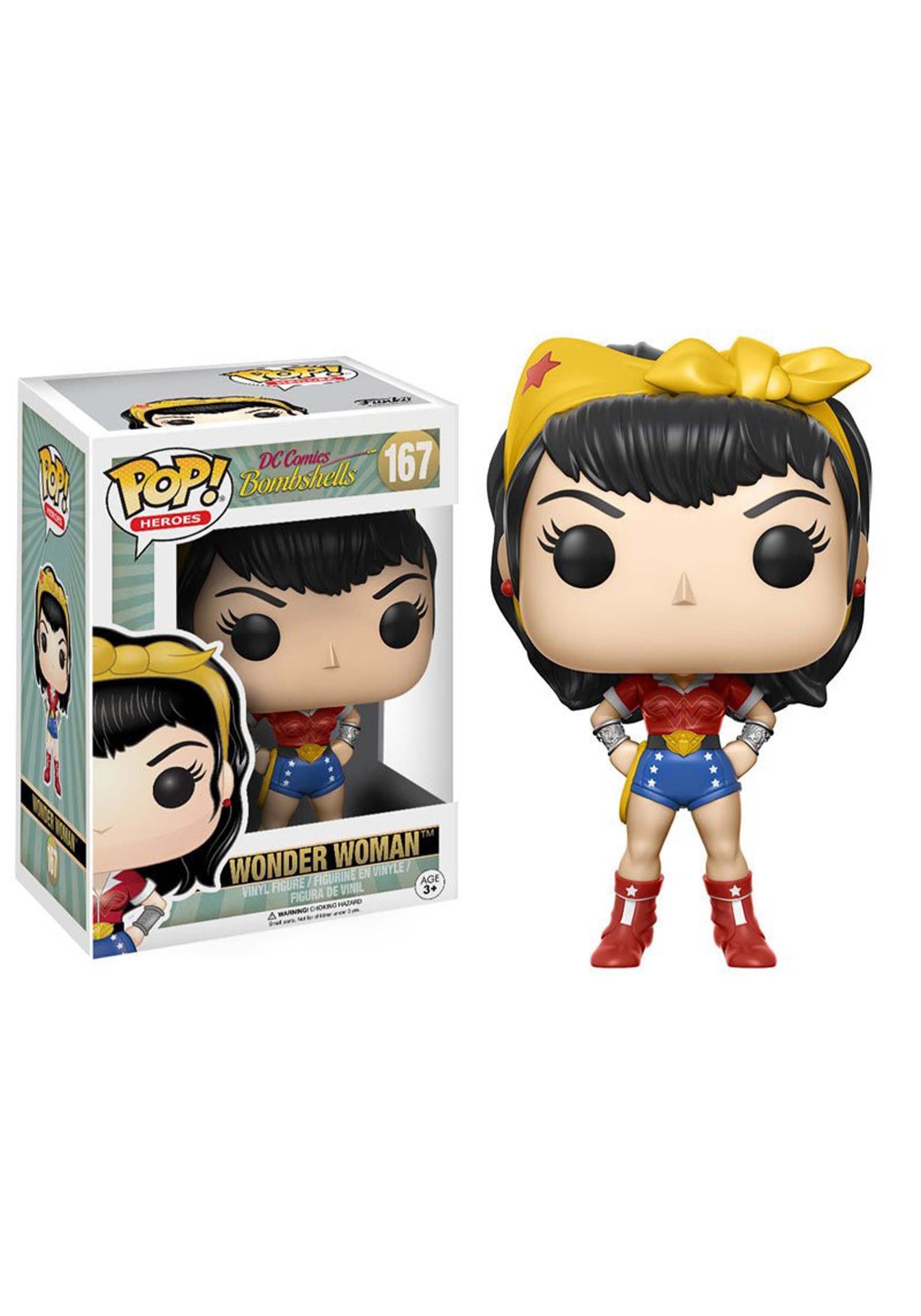 POP Heroes: DC Bombshells - Wonder Woman Vinyl Figure FN12853