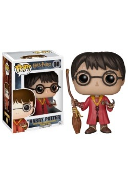 POP Movies Harry Potter Quidditch Harry Figure