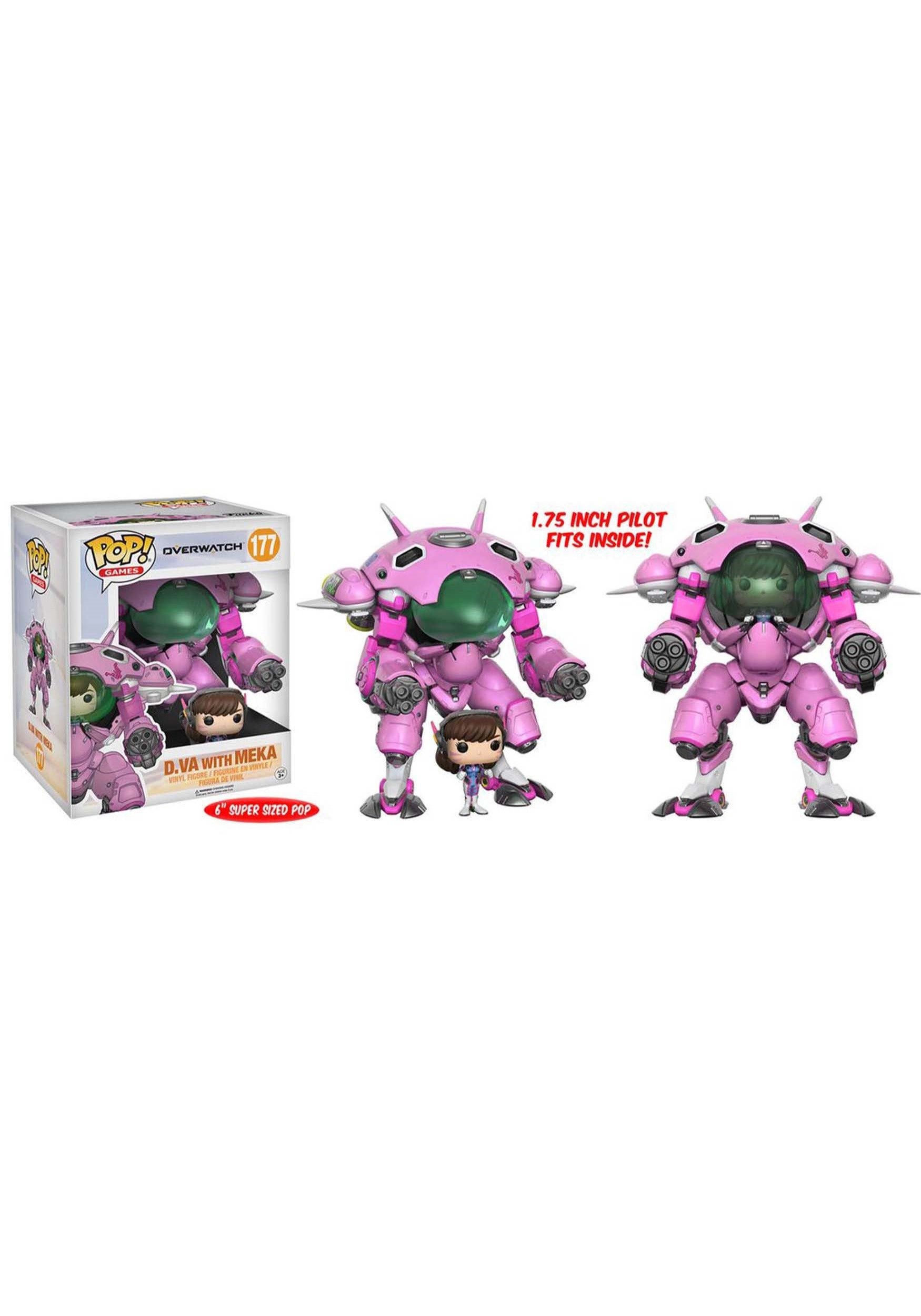 "Overwatch D.Va and Meka 6"" POP! Vinyl Figure FN13090"