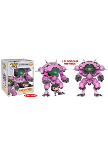 "Overwatch D.Va and Meka 6"" POP! Vinyl Figure"