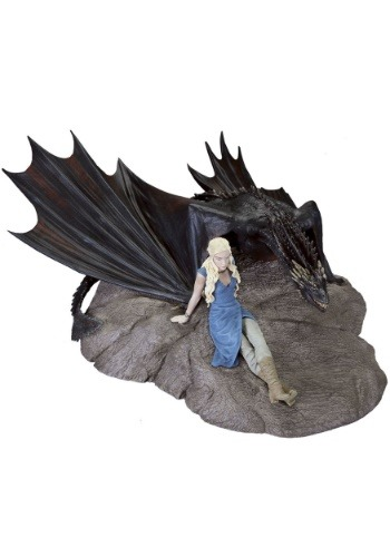 Game of Thrones Daenerys and Drogon Statuette DHC28-574-ST
