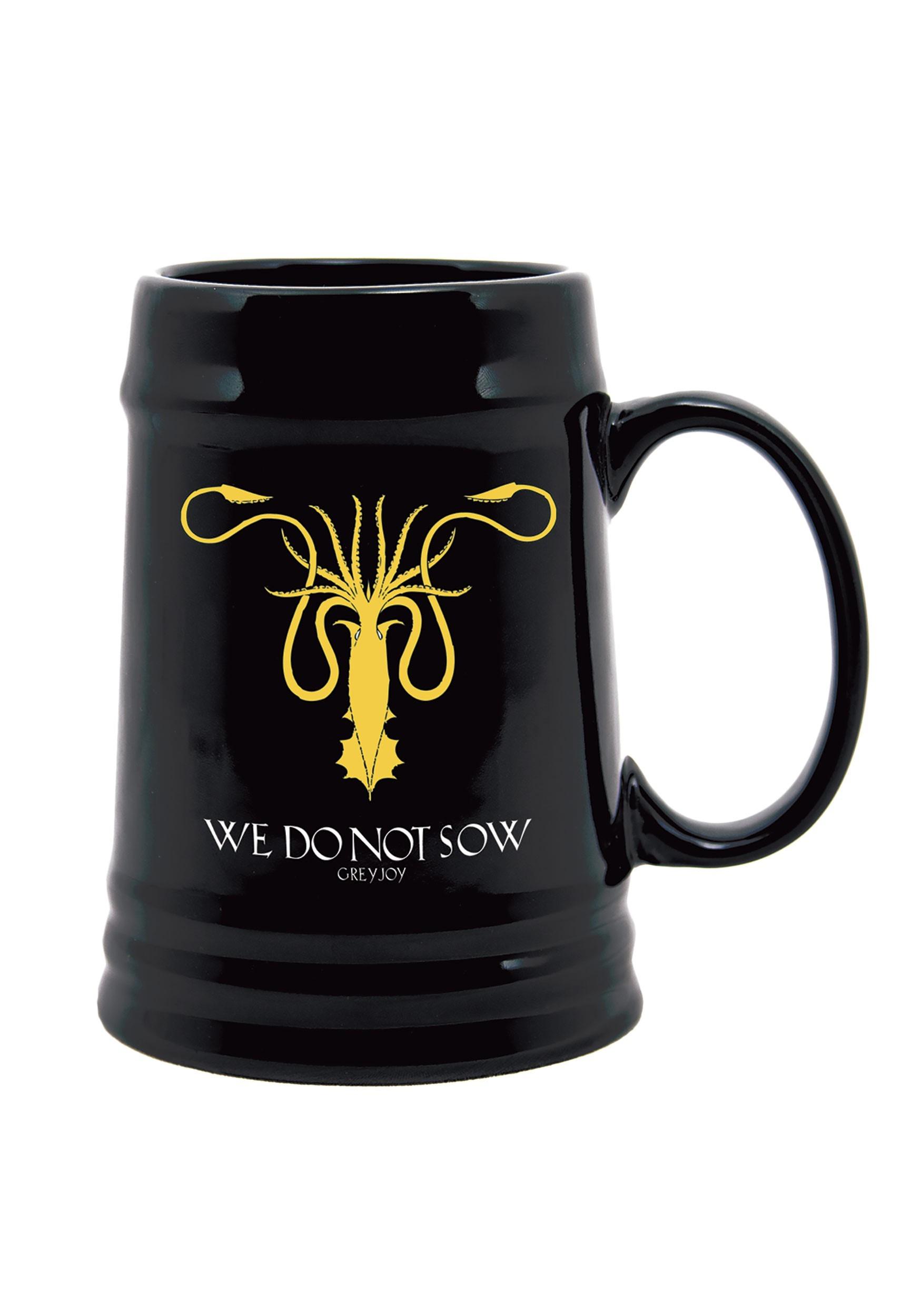 Game of Thrones Greyjoy Sigil Ceramic Stein DHC22-435