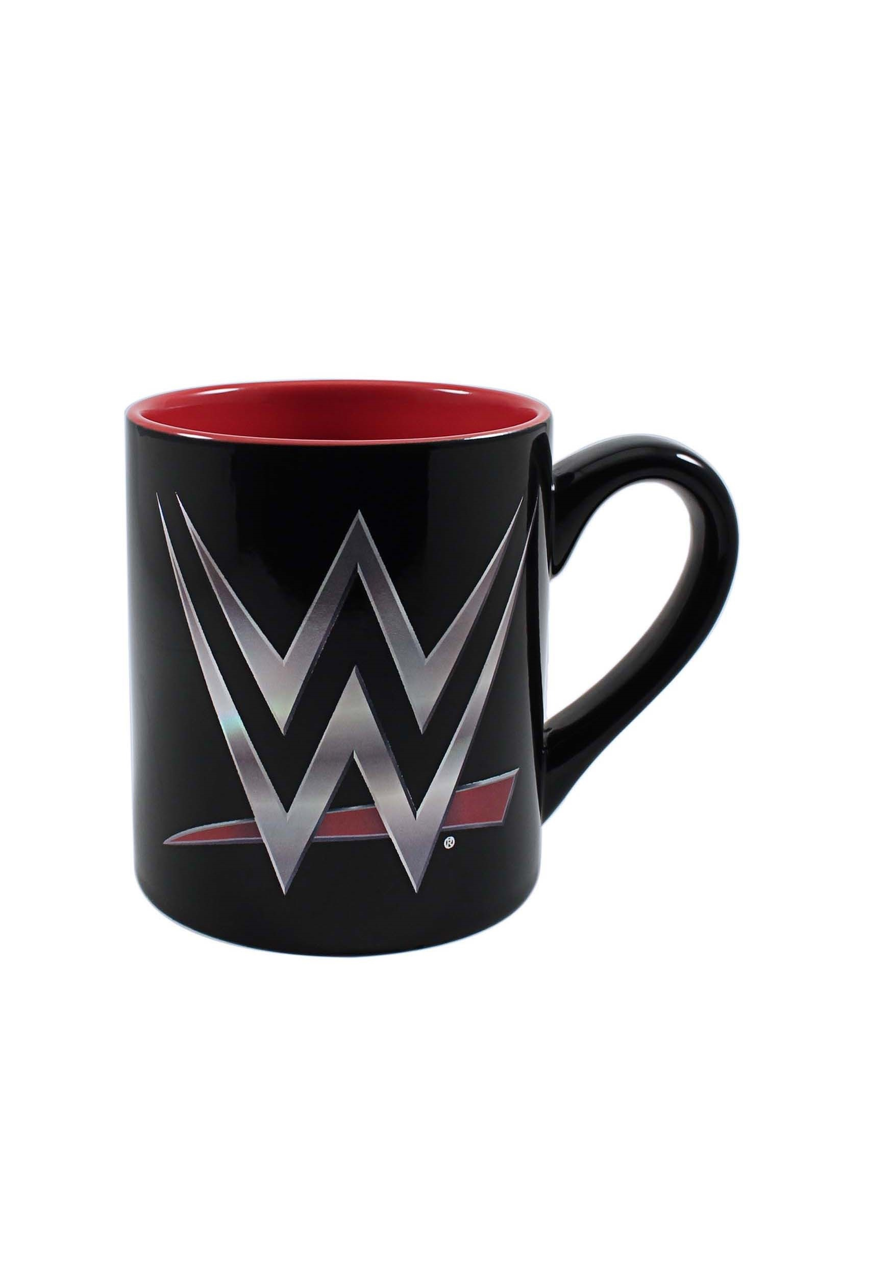 Wwe Logo Ceramic 14 Oz Mug