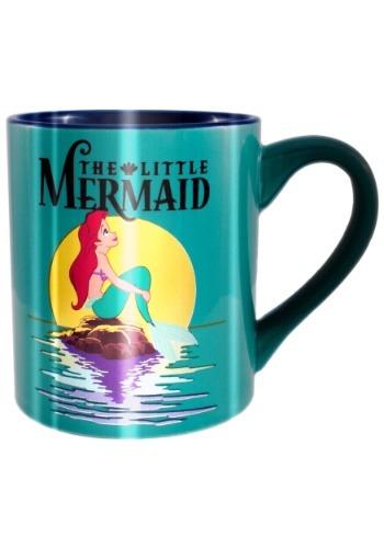Little Mermaid Ariel Looking Up 14 oz. Mug
