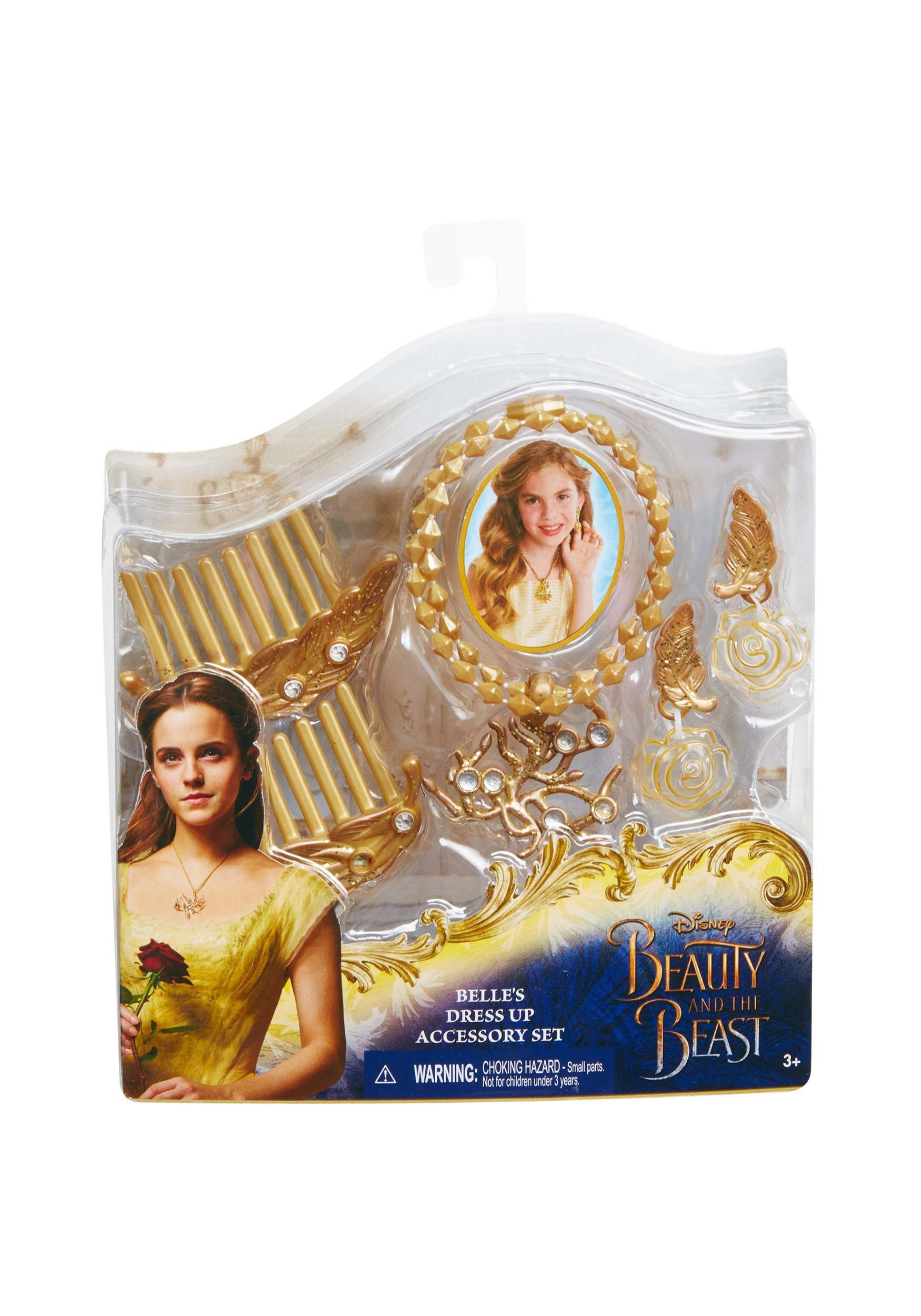 Belle S Diary Bohemian Style: Beauty & The Beast Belle's Dress Up Accessory Set For Girls
