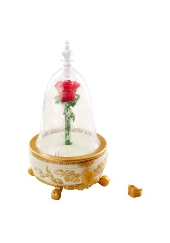 Beauty and the Beast Enchanted Rose Jewelry Box