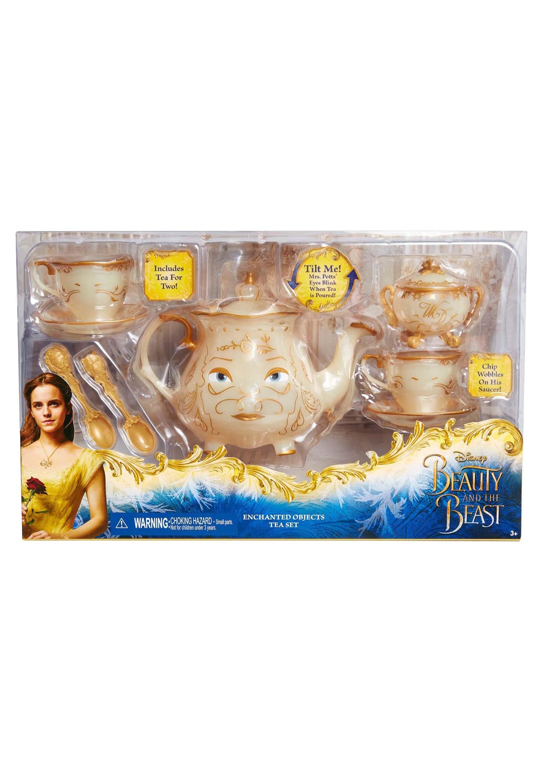 Beauty And The Beast Enchanted Tea Set
