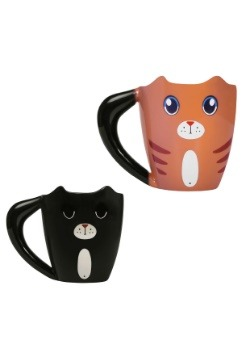Color Changing Ginger Cat Mug