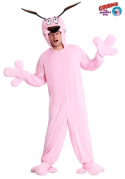 Courage the Cowardly Dog Adult Pajama Costume