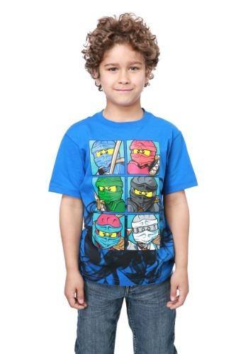 Ninjago Boys T-Shirt ILLR9L0011OL