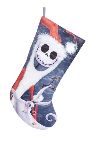 "Nightmare Before Christmas 19"" Satin Stocking"