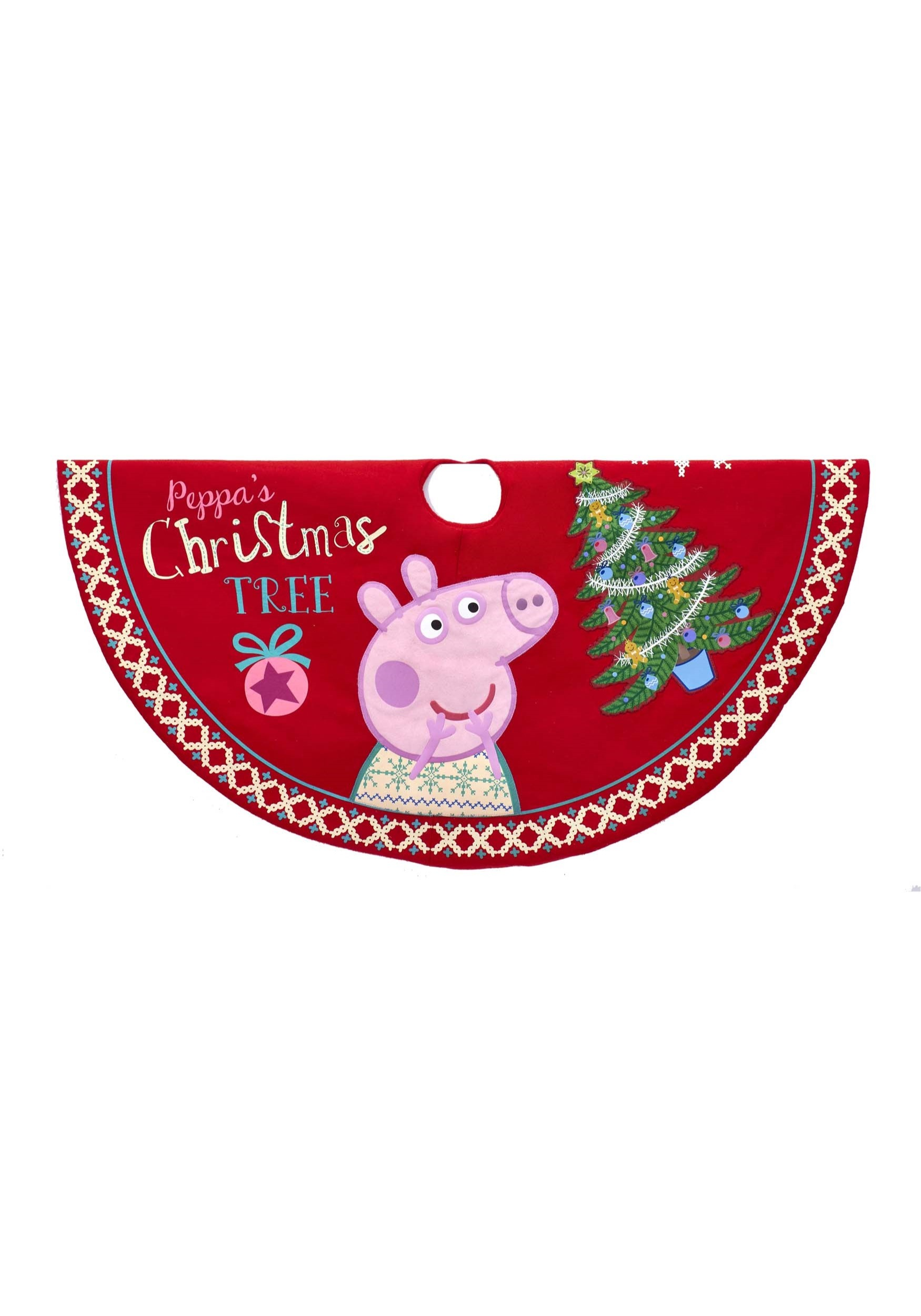 Peppa Pig 48 Printed Tree Skirt