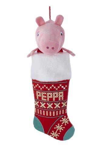 """Peppa Pig 19"""" Plush Head Stocking"""