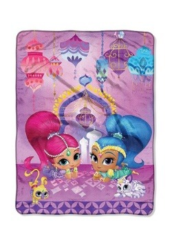 Shimmer & Shine Sky Genies Throw