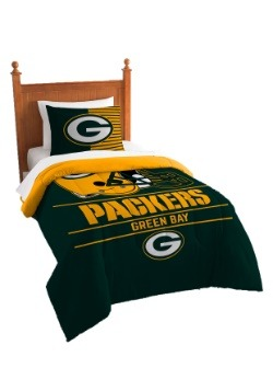 Green Bay Packers Twin Comforter Set
