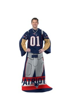 New England Patriots Uniform Comfy Throw