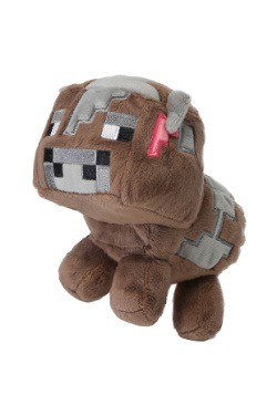 Minecraft Baby Cow Stuffed Figure