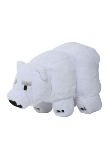 Minecraft Baby Polar Bear Stuffed Figure