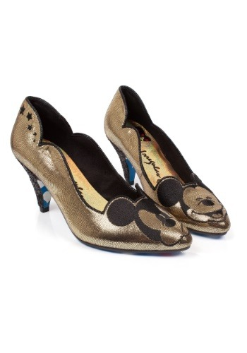 Irregular Choice Disney Glitzy Mickey Mid Heels